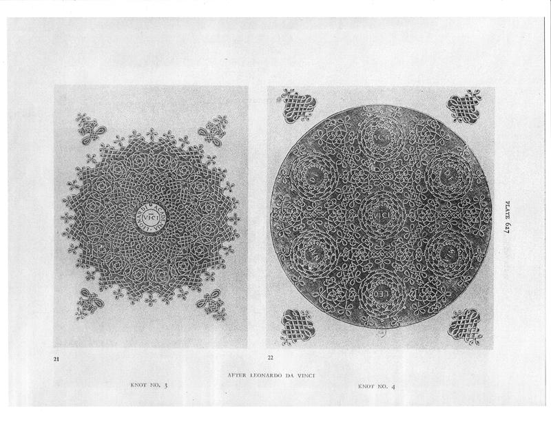 daVinci Plate Knots 3 and 4