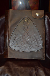 Thors-Hammer-knotwork-tooled-book-cover
