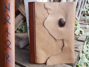 runes-Honor-leather-book-cover