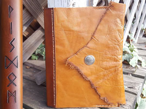 runes-Wisdom-leather-book-cover