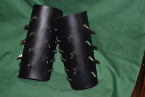 spikes-Vambraces-Black