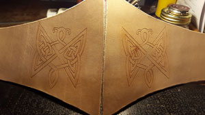 carving done on both sides